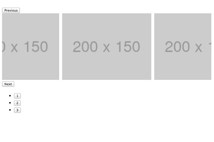 戻るボタン、スライド、進むボタン、ページャーの順に要素は並列