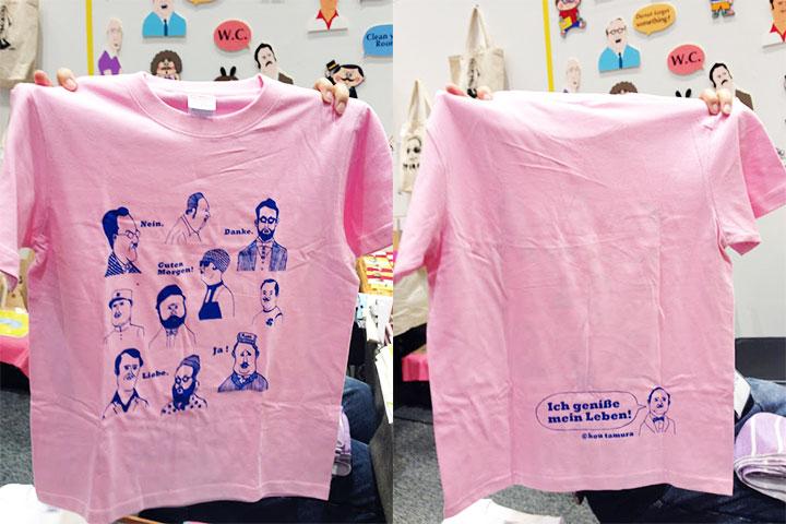 こんなTシャツが簡単に刷れちゃいます!