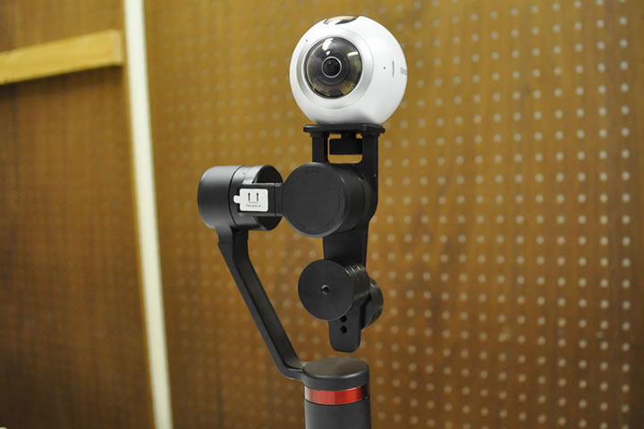 360°VRカメラ用スタビライザーMOZA GURU 360°を使ってみた。