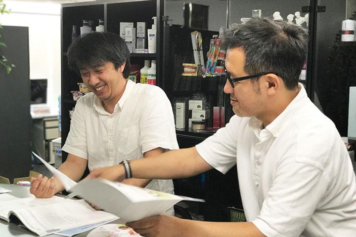 田中社長のお名前は(たなかこう)、私(たむらこう)と一文字違い。阪口さんは同い歳ということもあり共通項も多くて実はとても喜んでいます。