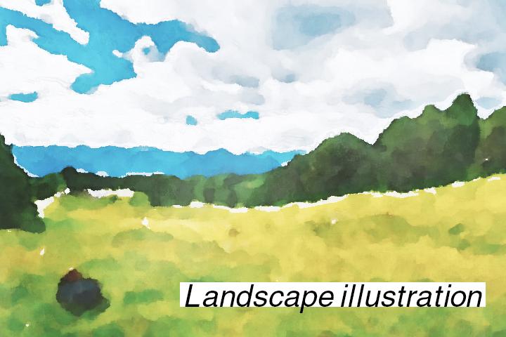 風景のイラストが素敵なイラストレーター8選。