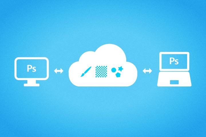Photoshopのブラシやパターンなどのプリセットファイルを複数環境で同期する方法【Windows】