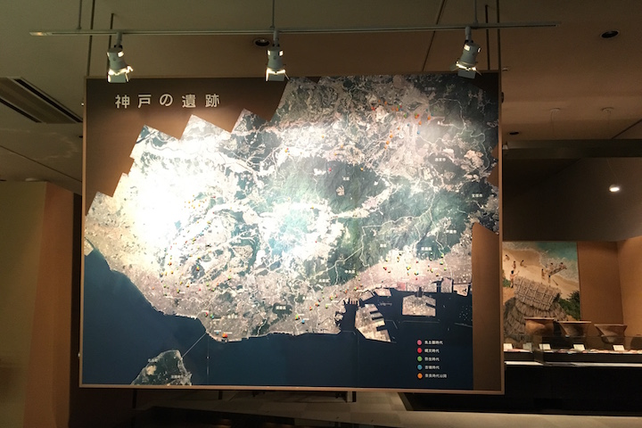 埋蔵文化財センター 常設展示室