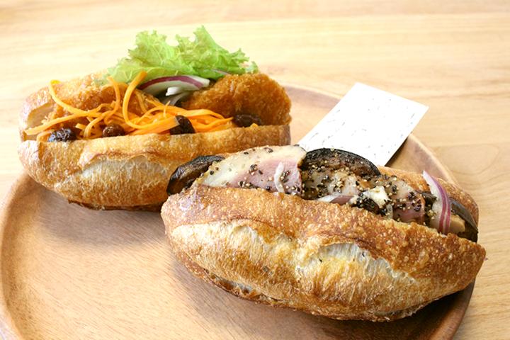 ミックスプラスベーカリー(MIXPLUS BAKERY)のサンドイッチ