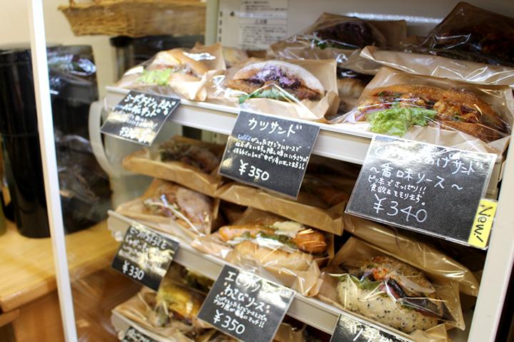 ミックスプラスベーカリー(MIXPLUS BAKERY) サンドイッチコーナー