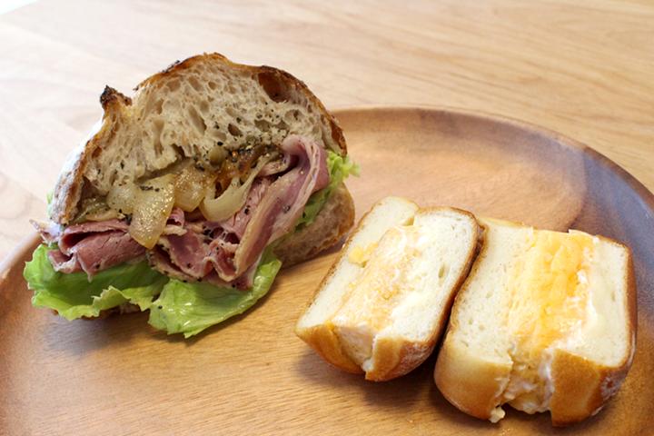 サ・マーシュ(Ca marche)のサンドイッチ