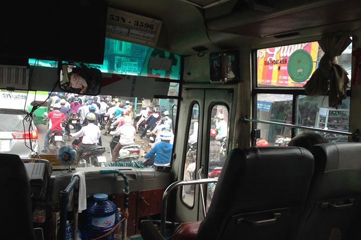 バスに乗る時はスリに注意!