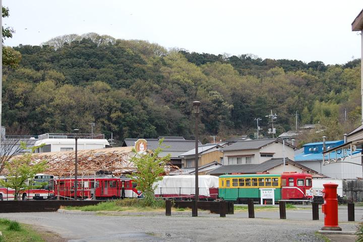 風の道 終点 下津井駅に到着!