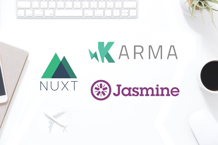 Nuxt.jsでユニットテスト(Karma+Jasmin)。