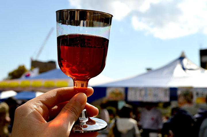 神戸ワイナリーで買った赤ワイン
