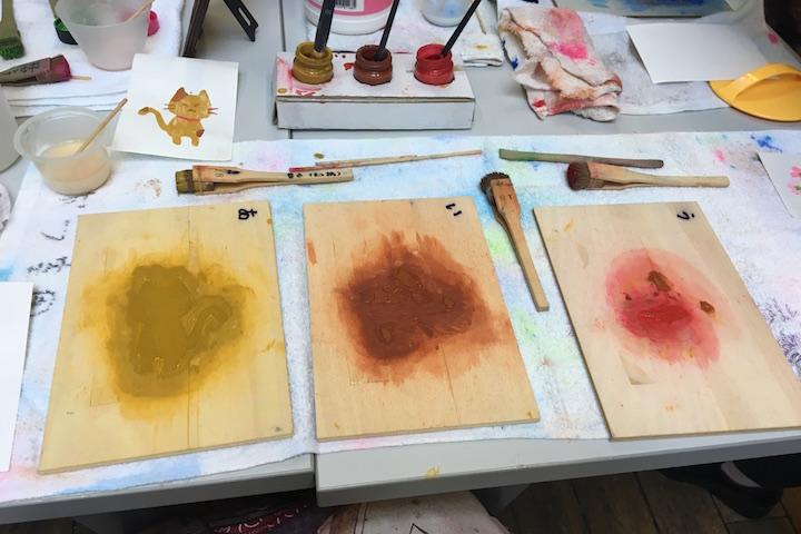 多色刷り木版画